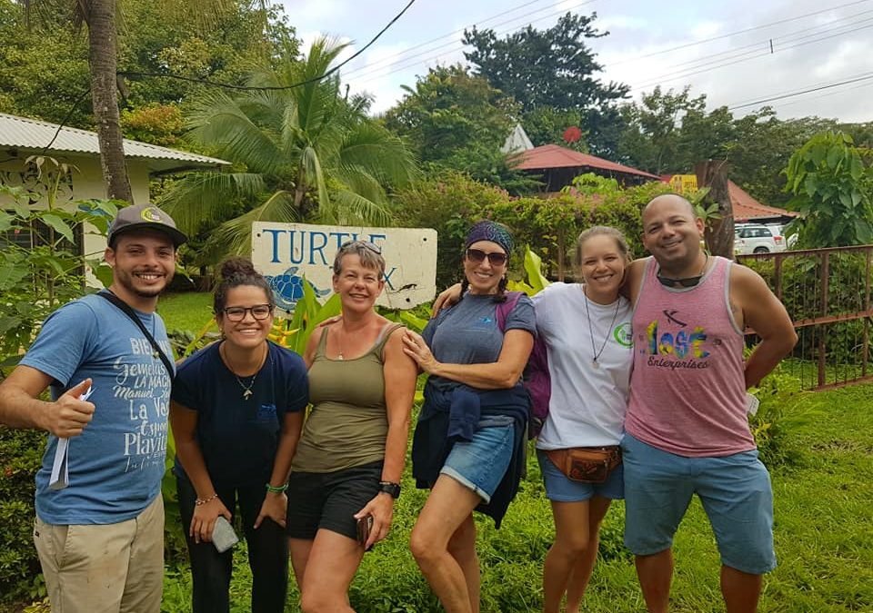 Volunteering plays an important role in marine conservation and community development